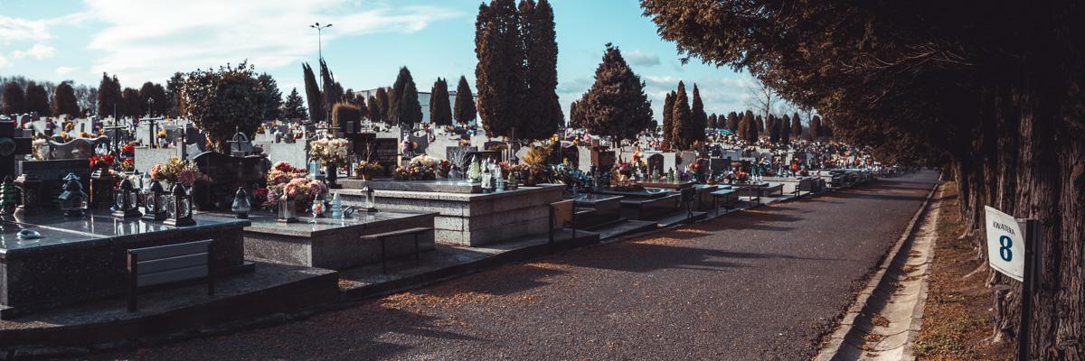 UWAGA! Informacje dot. Cmentarza Komunalnego na czas przebudowy